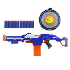 nerf car shooter electric bursts of soft bullet ammunition outdoors toy guns