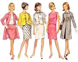 sale vintage dress pattern vintage coat pattern 60s simplicity