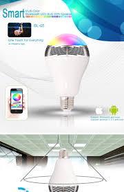 Bluetooth Light Bulb Speaker Bluetooth Speaker With Led Light Bl05