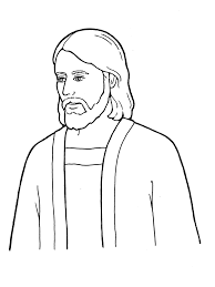 coloring jesus lds coloring pages faith in jesus christ lds coloring pages jesus