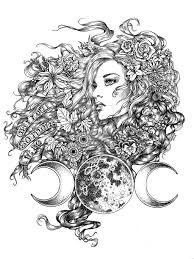 tattoos for a goddess clipart library