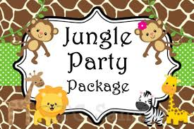 jungle birthday party invitations choice image invitation design