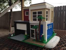 Modern Beach House by Lego Modern Beach House Moc Youtube