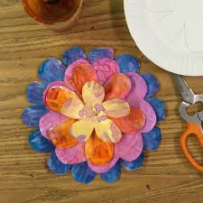 paper plate flower art projects for kids