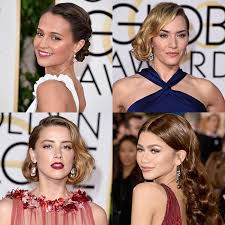 hairstyles golden globes golden globes 2016 the stars who gave us major hair inspiration