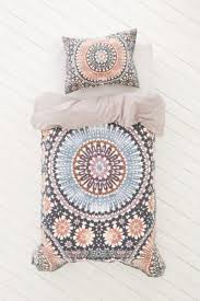 magical thinking moroccan tile duvet from urban outfitters