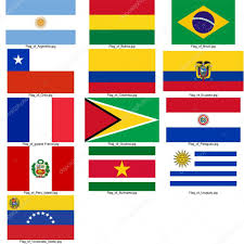 Flags Countries Flag Of South American Countries U2014 Stock Photo Michal812 3388135