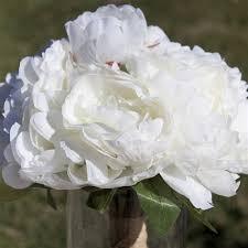 silk peonies silk peony bridal silk flowers bouquet from balsa circle