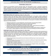 sle consultant resume template management consultant resume sle free cv template project