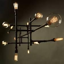 Chandelier Bulb Pipe 16 Bulb Chandelier