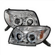 2003 toyota 4runner tail light 03 05 toyota 4runner chrome halo angel eyes projector headlights