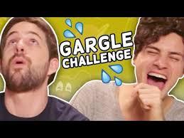 Challenge Smosh Gargle Song Challenge Smosh Is Bored