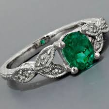 emerald engagement ring best 25 emerald engagement rings ideas on green