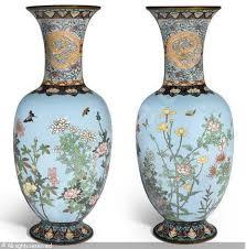 Enamel Vase A Cloisonné Enamel Vase Sold By Bonhams New York On Tuesday