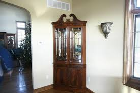 china cabinet corner china cabinets and hutches antique amish