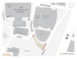 Ut Austin Campus Map by Dedman Construction Parking U0026 Transportation Services Pts