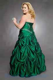 buy tailor made strapless a line beading green taffeta custom made