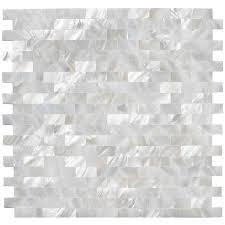 shell tile backsplash 102 best tile images on pinterest kitchen backsplash bathroom