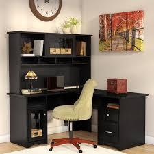 red barrel studio toledo l shaped executive desk with hutch