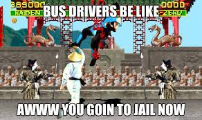 Uppercut Meme - bus driver uppercut memes quickmeme