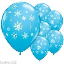 snowflake balloons snowflake print blue balloons disney frozen birthday party
