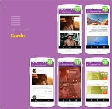 layout template listview material design ui android template app by creativeform codecanyon