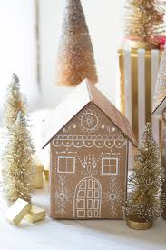 house gift diy gingerbread house gift boxes