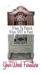 How To Antique Furniture by Best 20 Painted Wood Furniture Ideas On Pinterest Repainting