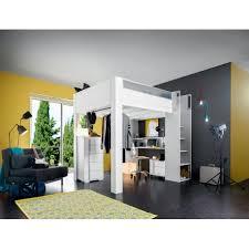 chambre gautier lit enfant haut mezzanine gautier dimix le géant du meuble