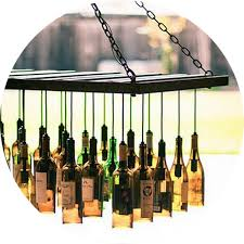 Diy Glass Bottle Chandelier 5 Upcycling Diy Ideas For Event Decor Venue Logic Event