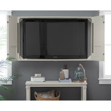 Tv In Front Of Window by Front Tv Wall Mount Cabinet Media Stand Console Storage