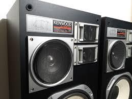 nice speakers pair of vintage kenwood jl 940w 12 4 way floor speakers very nice