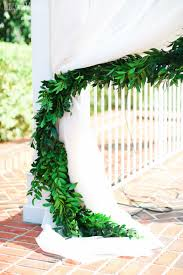 wedding arches toronto greenery draping for a wedding arch greenery filled