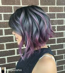 funky hairstyle for silver hair best 25 funky hair ideas on pinterest short dyed hair short