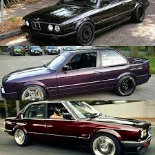 the e30 is getting a new paint job just not sure what color