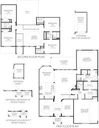 New Homes Floor Plans by The Sarrento Se Westpark New Home Floor Plan Keller Tx