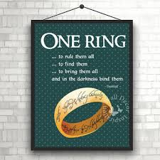 Lord Of The Rings Decor Shop Tolkien Art On Wanelo