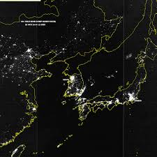 World Map At Night by Some Satellite Photos Of Earth At Night