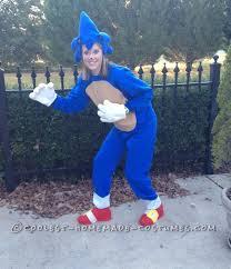 Sonic Halloween Costume Hedgehog Costume Fun Adults