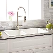 10 attractive double basin kitchen sink design ideas yumnahome