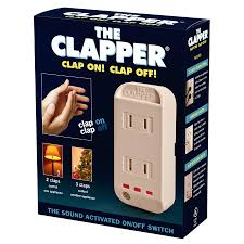 modern electrical switches amazon com the clapper sound activated on off switch 1 each