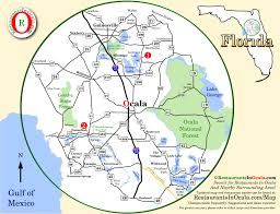 Map Of Ocala Fl Restaurantsinocala Com What U0027s Cookin U0027