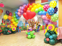 decor top balloon birthday decoration room design plan amazing