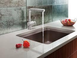 sink u0026 faucet kitchen modern rustic walnut cabinets ideas