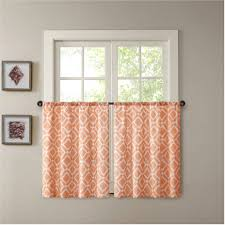 Rust Colored Kitchen Curtains by Kitchen Curtains Walmart Com 0d5e0bad7b82 1 Curtain Teal And Rust