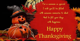 thanksgiving wishes someone special thanksgiving blessings