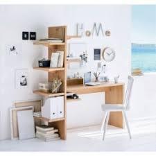 bureau avec rangement intégré bureau avec etagère et rangement optimisation espace pour travail