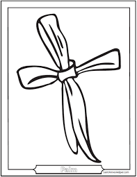 palm sunday coloring pages jesus easter clip art