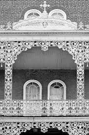 New Orleans Wall Decor Photo Print Of Wrought And Cast Iron Balcony Garden District New