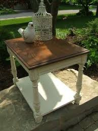 refinishing end table ideas handpainted gray french grain sack end tables grain sack gray and